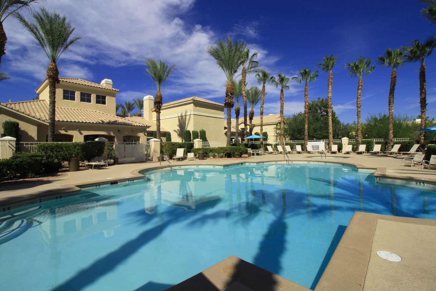 Large pool at La Villa Estates.