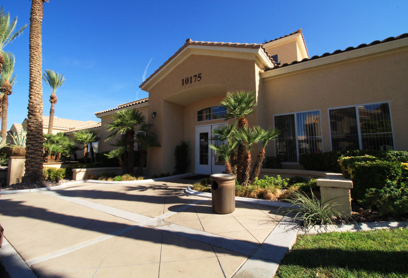 Leasing office at La Villa Estates