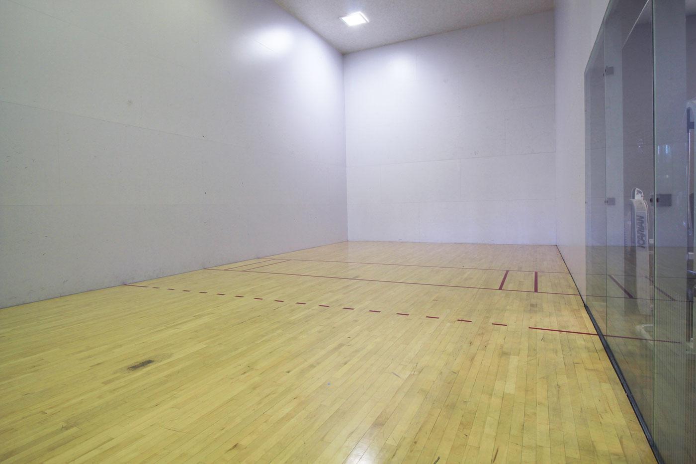 Racquetball at La Villa Estates.