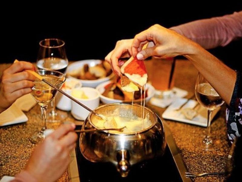 Cheese Fondue at The Melting Pot